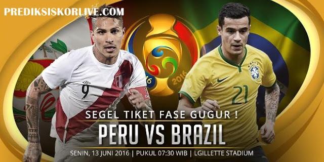 Prediksi Sepakbola Peru vs Brasil
