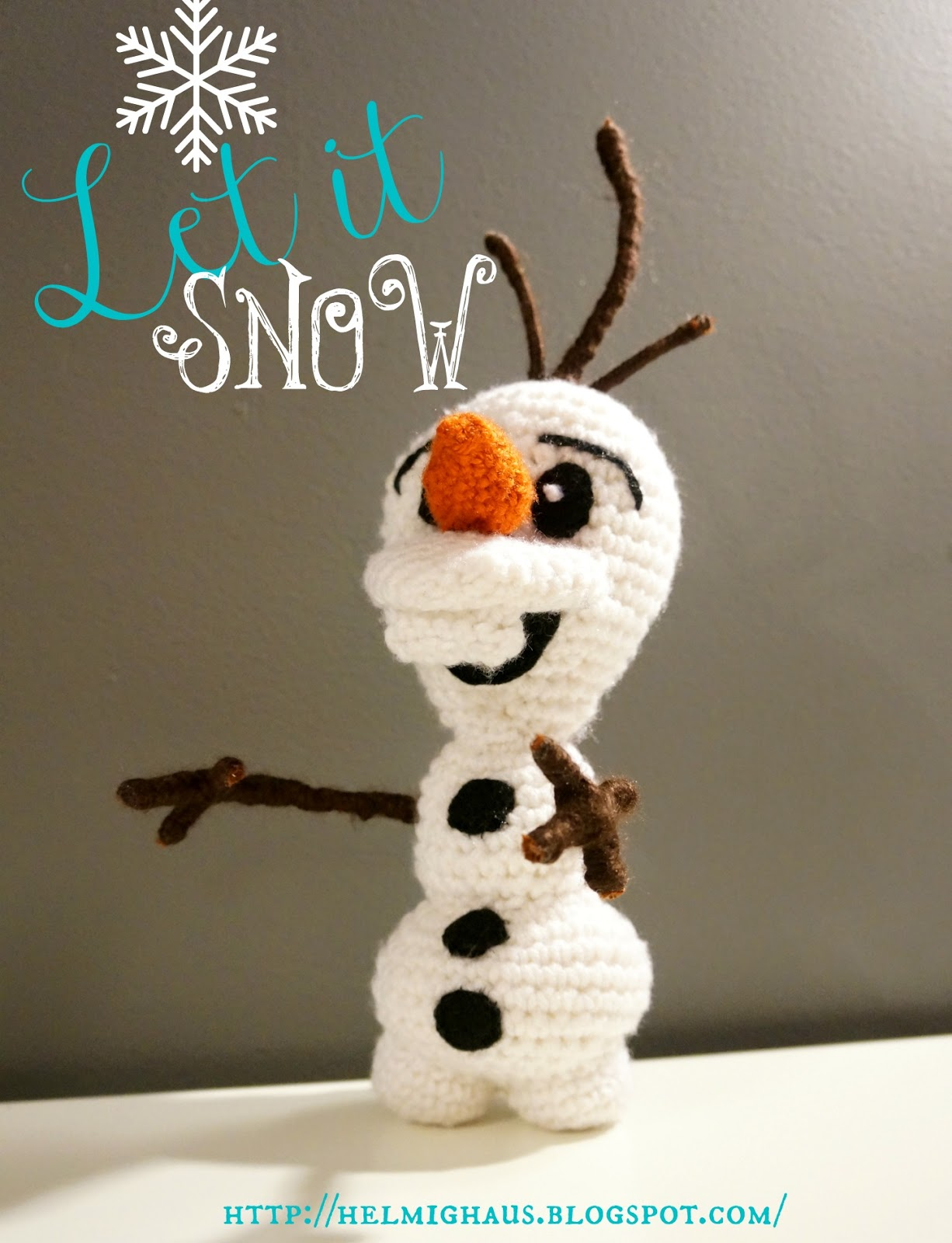 OLAF [CROCHET FREE PATTERNS] – Easy Crochet | Crochet dolls free ... | 1600x1226