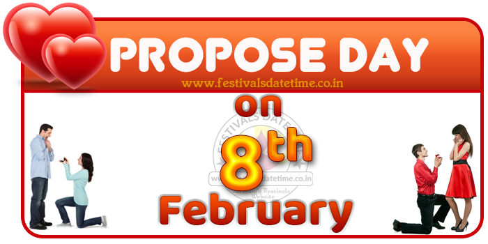 Propose Day Date in Valentine Week