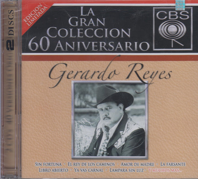 Gerardo Reyes 40 Canciones La Gran Coleccion CD Album - Descargar