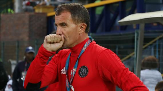 Micho hints at no new signings for Orlando Pirates