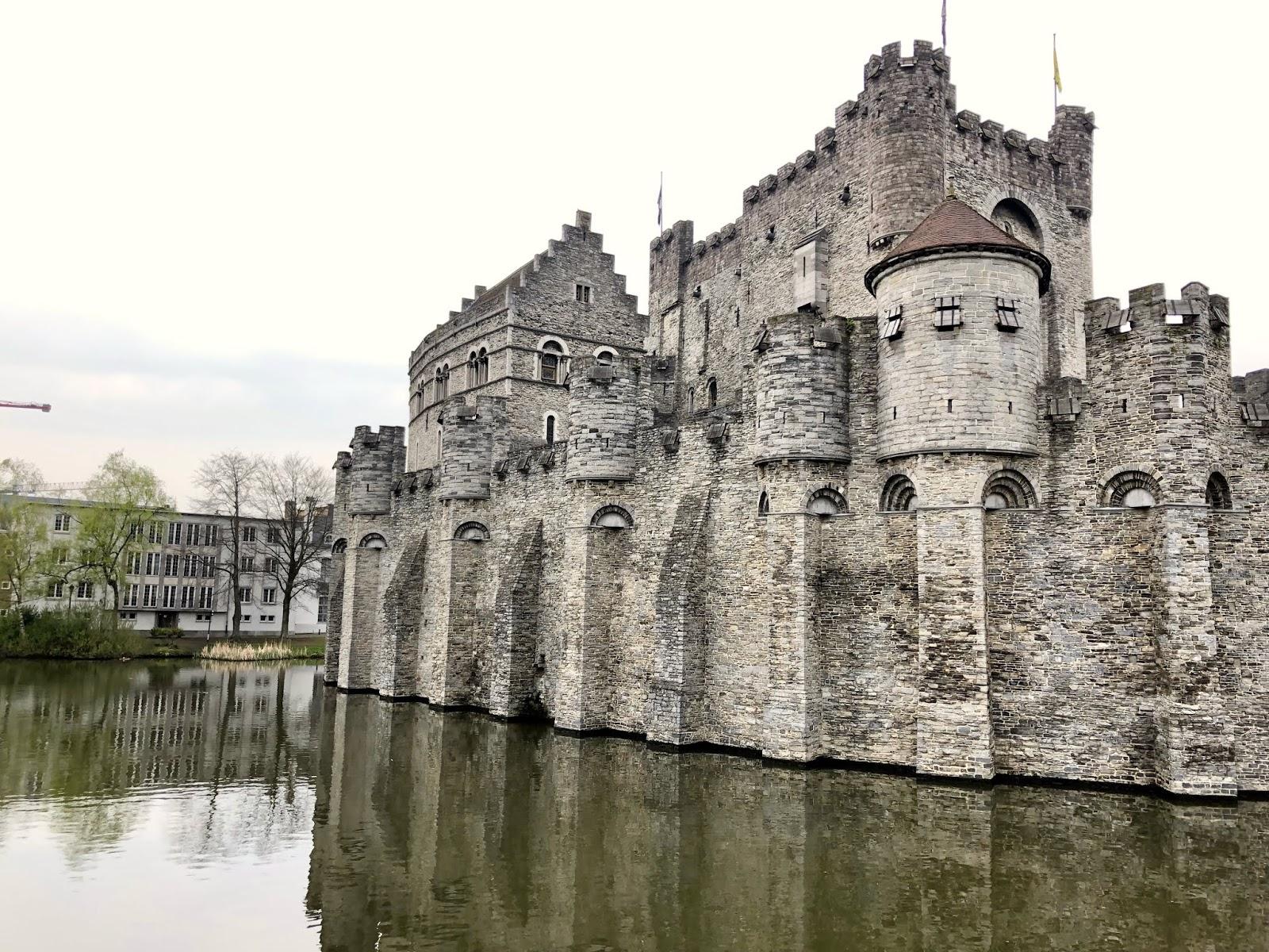 Gravensteen Castle in Gent, Belgium