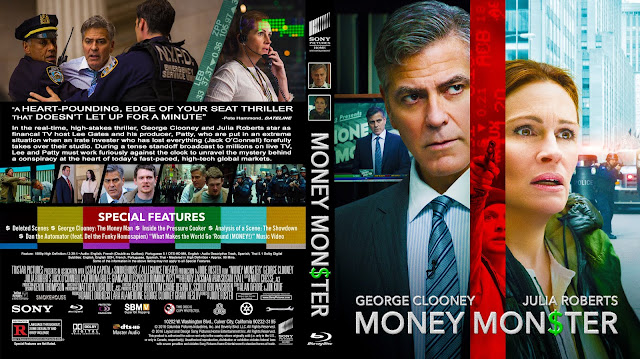 Money Monster Bluray Cover