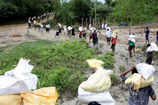 ONU eleva a 519.000 la cifra de rohingyas llegados a Bangladesh