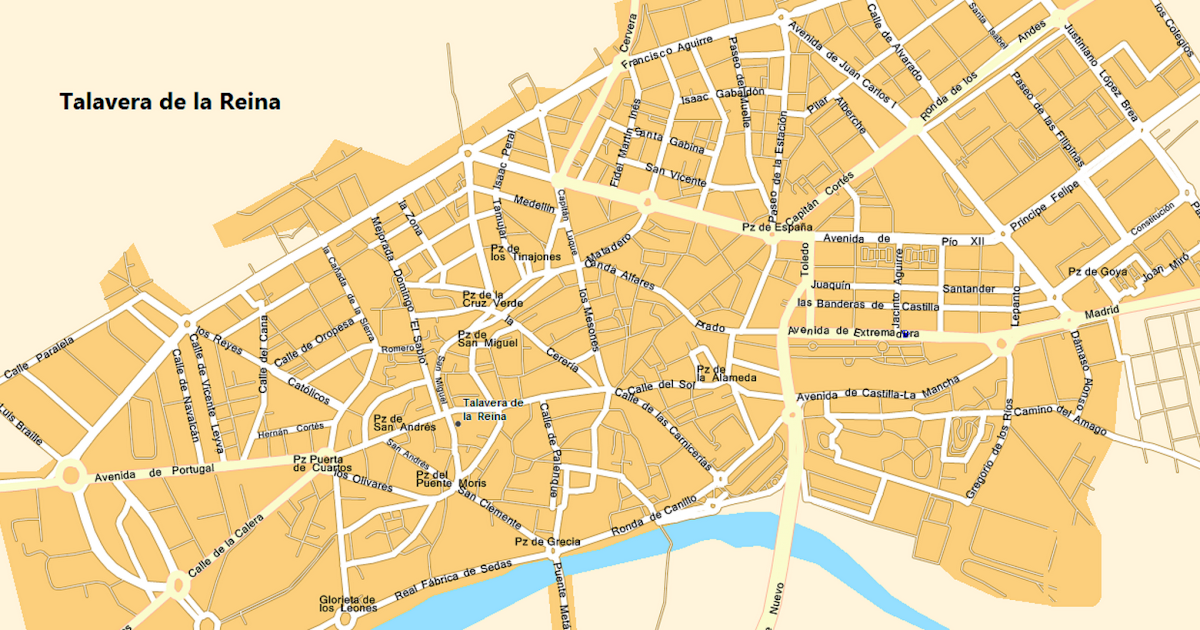 Mapa Talavera Dela Reina.Por Una Educacion Que Nos Ensene A Pensar No A Obedecer Mapa Talavera De La Reina