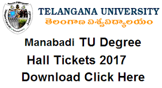 tu ug hall tickets 2017 download