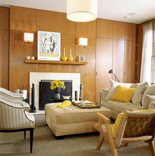 wooden wall living room paint colors