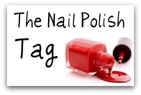 The Nail Polish Tag - I'm it!