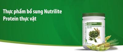 Giới thiệu thực phẩm bổ sung Nutrilite Protein Powder thực vật của Amway