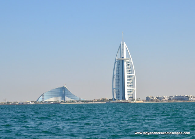 Sightseeing boat tour at the palm lady her sweet escapes for The sail hotel dubai
