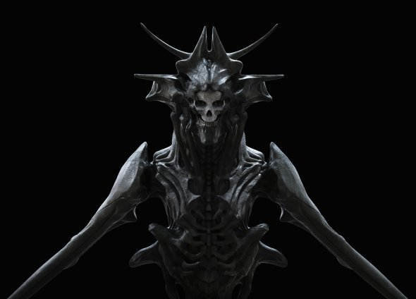 Elias Ravanetti artstation arte ilustrações modelos 3D sombrias terror fantasia ficção