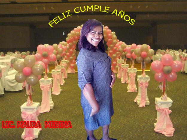 El Guazarero felicita a la Licenciada Maura Medina Matos  en su cumple años