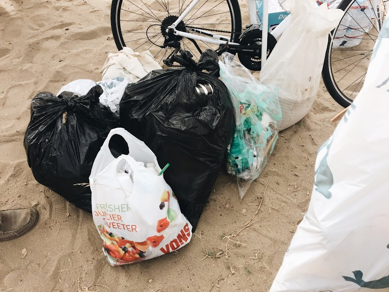 Off the Grid in the City - Coastal Clean Up Day - Heal the Bay