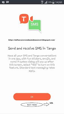 Cara Daftar Tango Messenger