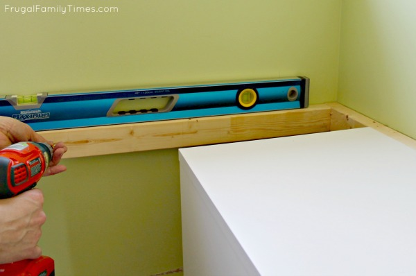 IKEA window seat frame