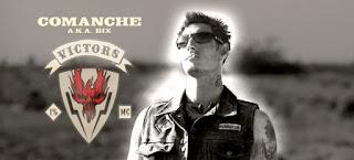 Eric Balfour dans le rôle de Comanche dans Hell Ride de Larry Bishop produit par Tarantino, action, film