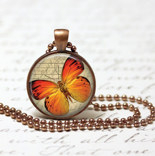 PNG Digital Template for copper necklace