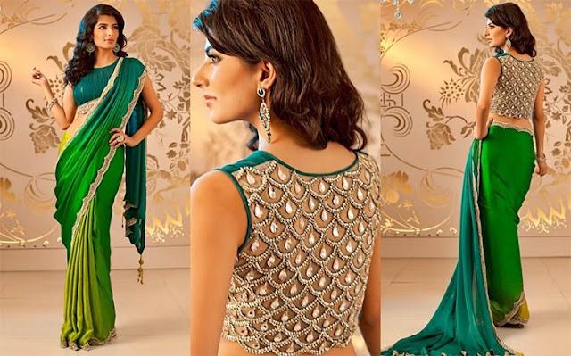latest-lehenga-saree-indian-blouse-designs-2016-17-for-women-14