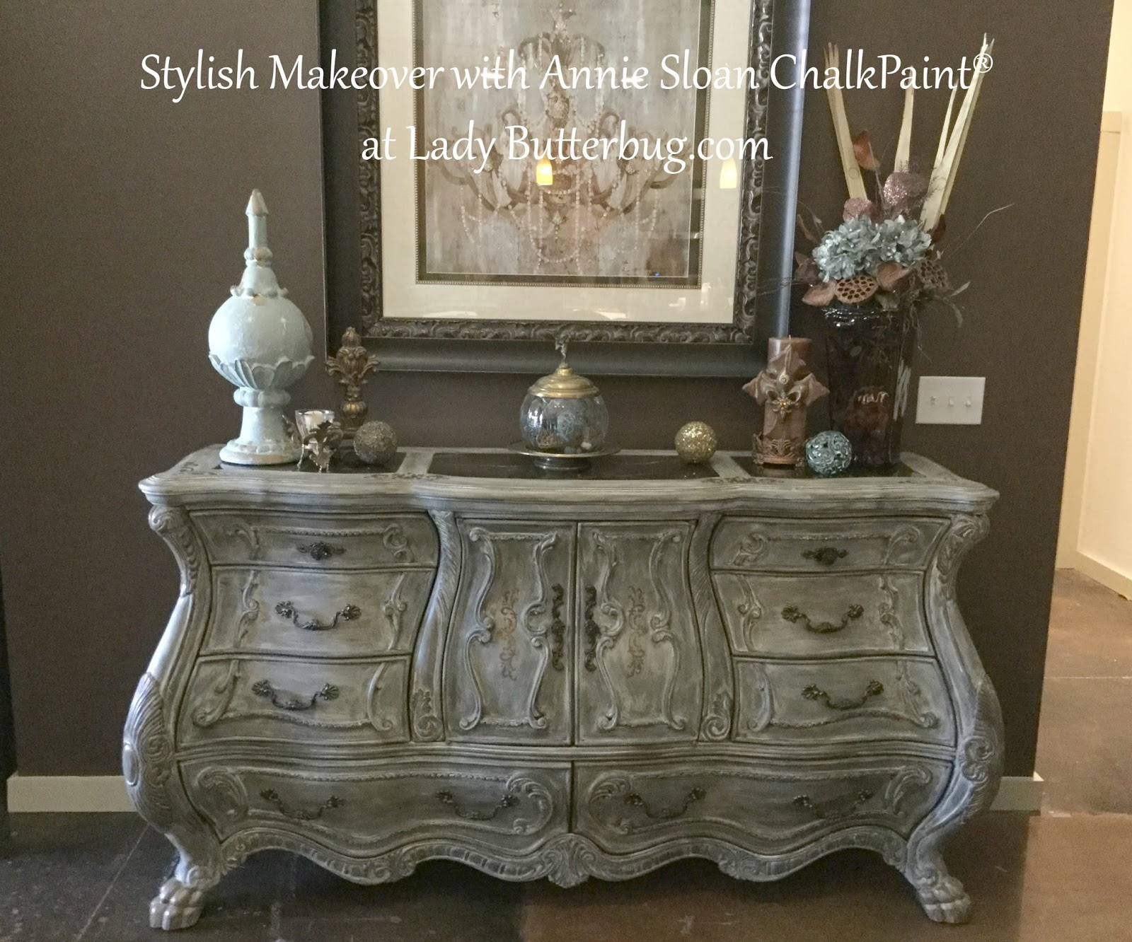 Stylish Dresser Makeover With Annie Sloan Chalk Paint