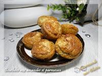 Bouchées apéritives aux amandes et parmesan (sans gluten, sans farine)
