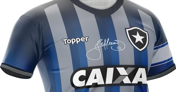 9aaf5b668f Botafogo lança camisa em homenagem ao goleiro Jefferson - Show de Camisas