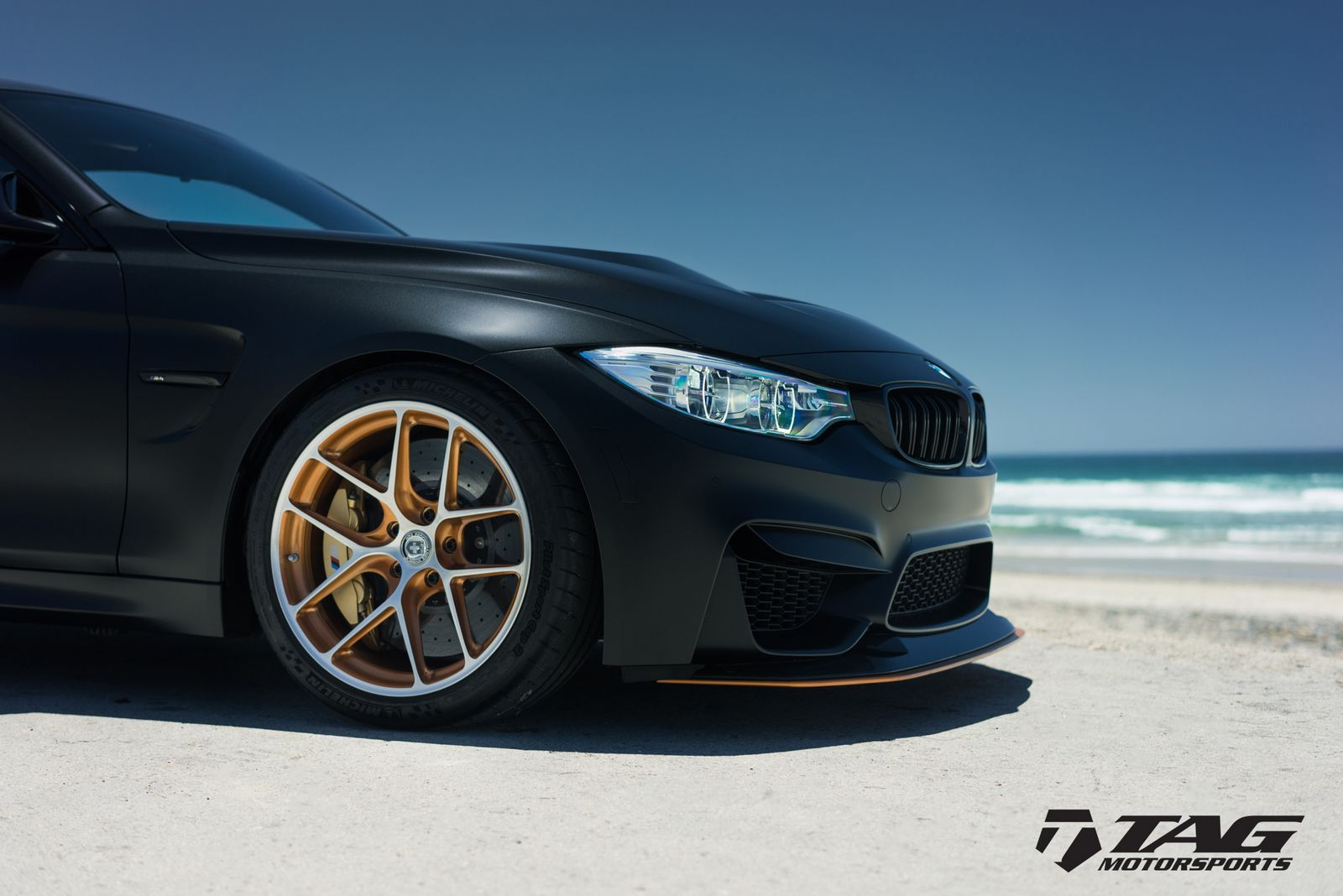 Bmw M4 Gts Looks Ready To Attack In Matte Black Car News