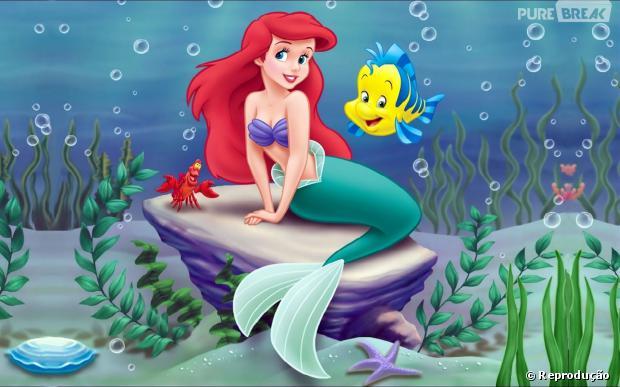 ariel é aventureira, corajosa e uma princesa linda