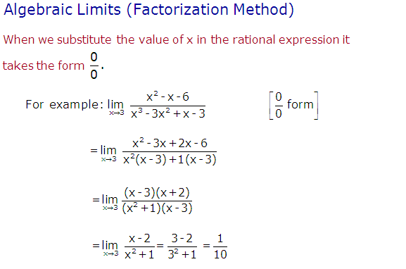 Properties of limits,Algebraic limit,solution of limit questions,
