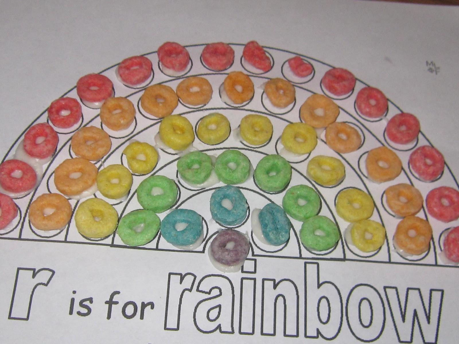 Preschool Rainbows And Rabbits
