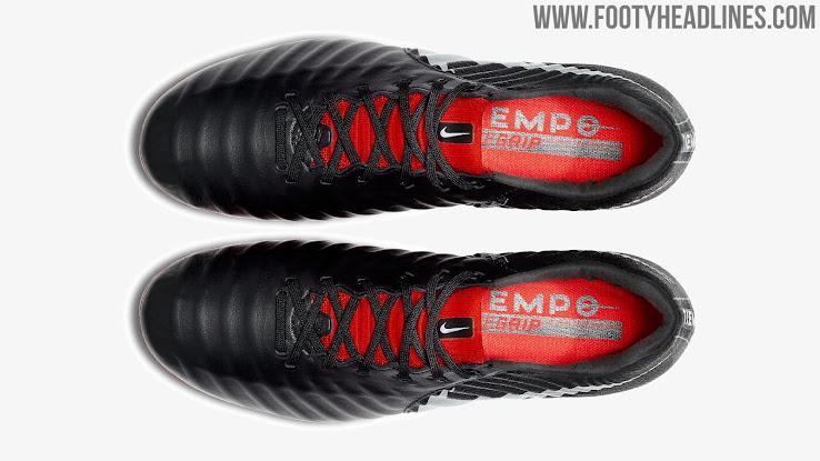 size 40 49118 3d4d3 Black / Red / Silver Nike Tiempo Legend VII Elite 'Raised on ...