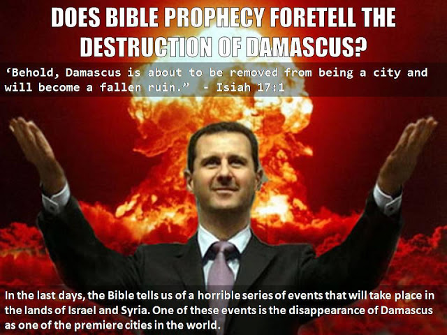 Damascus Syria in Bible Prophecy