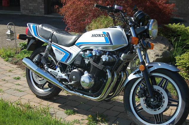 Honda CB900F Exhaust Sound