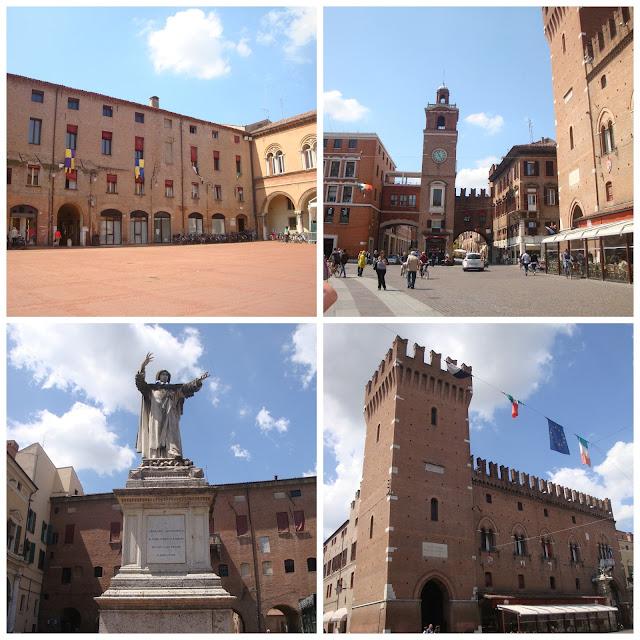 Palazzo Municipale, Piazza del Municipio e Torre dell´Orologio, Ferrara