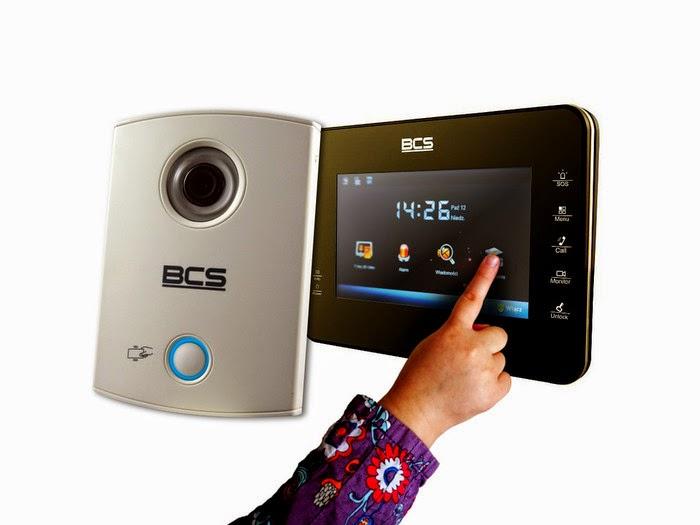 Wideodomofon IP BCS-VDIP3 - zestaw z czytnikiem kart RFID