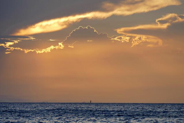 Wolken Wetter Strand Gewitter Sonnenuntergang Meer