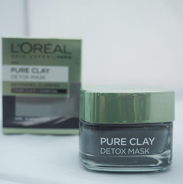 loreal pure clay detox mask