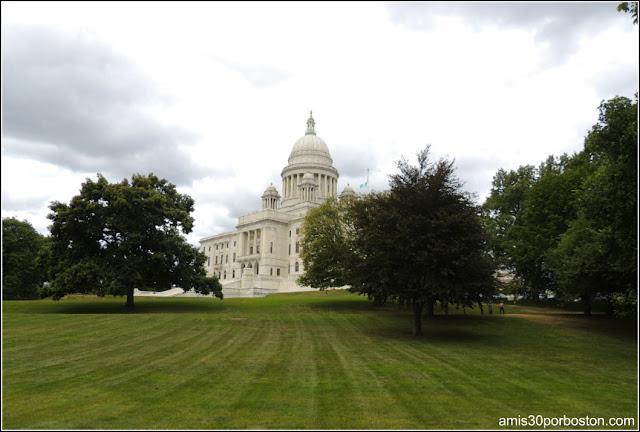 Rhode Island State House en Providence