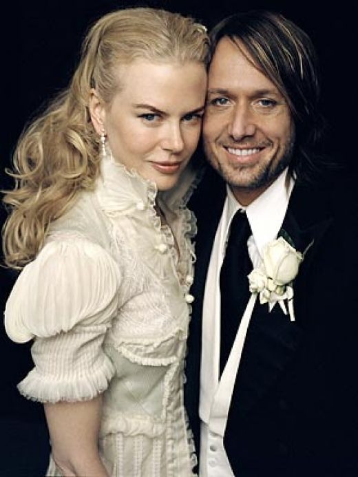 Red Carpet Wedding Nicole Kidman And Keith Urban Red