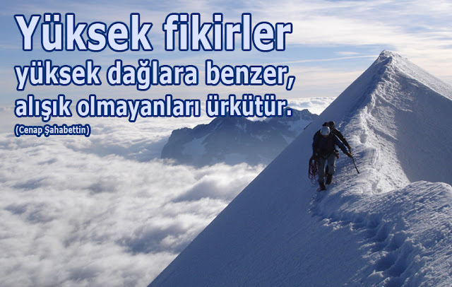 dağ, yüksek dağ, dağcılık, tırmanma, karlı dağ, kar, bulutlar,
