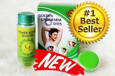Golden underarm Original Kemasan Terbaru Untuk perawatan Memutihkan Ketiak dengan Cepat Juga Terjamin Aman Tanpa Efek Samping