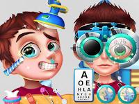 العاب طبيبة العيون
