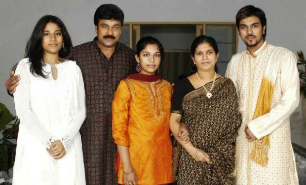 Ram Charan Family Photos