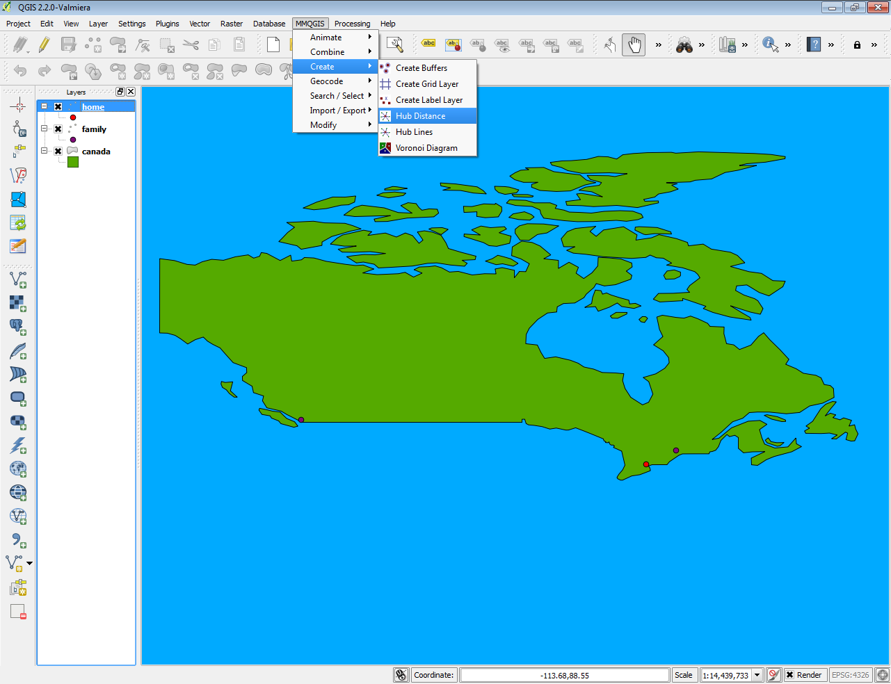 QGIS Tutorial: How to find the distance from multiple points