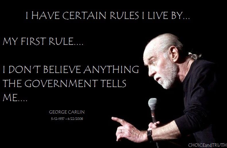 government regulations on radio broadcasting in george carlins filthy words