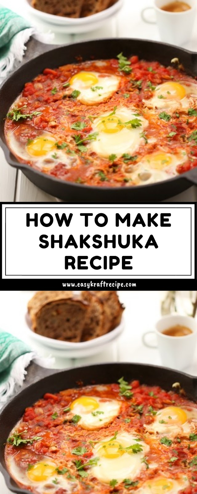 HOW TO MAKE SHAKSHUKA RECIPE