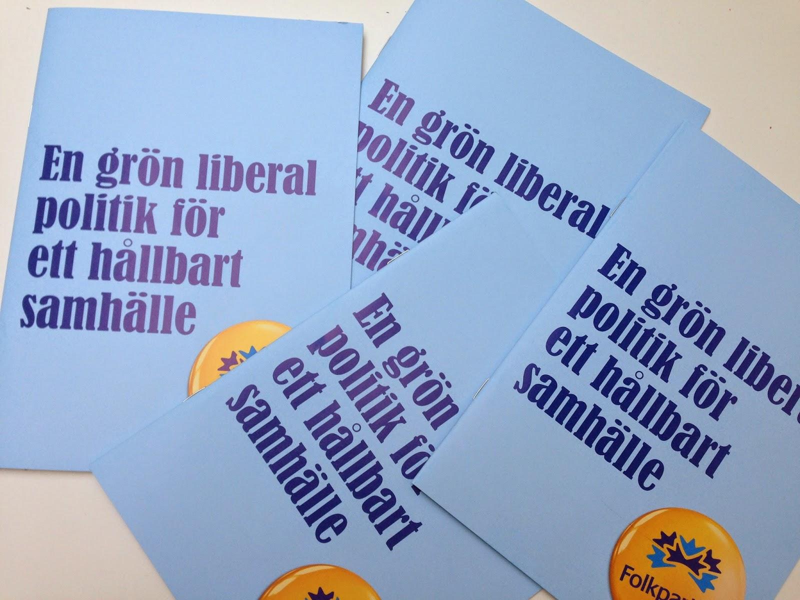 Karin karlsbro vill ha avgift trots folkpartiets nej