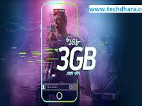Grameenphone 3 GB internet data at Tk. 148 for 7 days