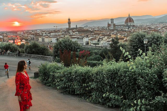 Floransa, Floransa gezilecek yerler, Piazza Michelengelo