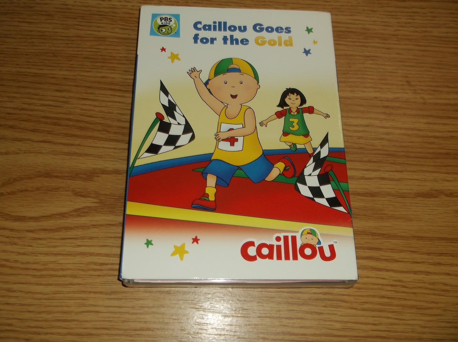 Missys Product Reviews Caillou Goes For The Gold