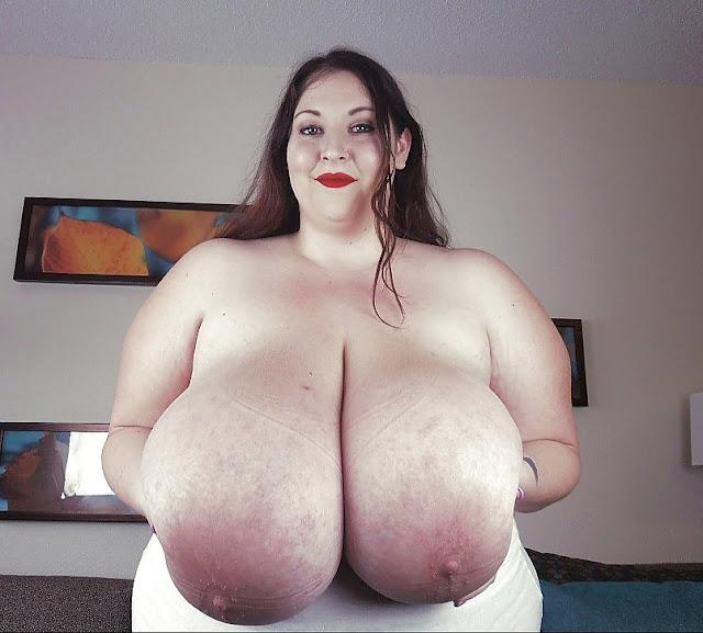 Bild von fetten Eutertitten einer Rubensdame